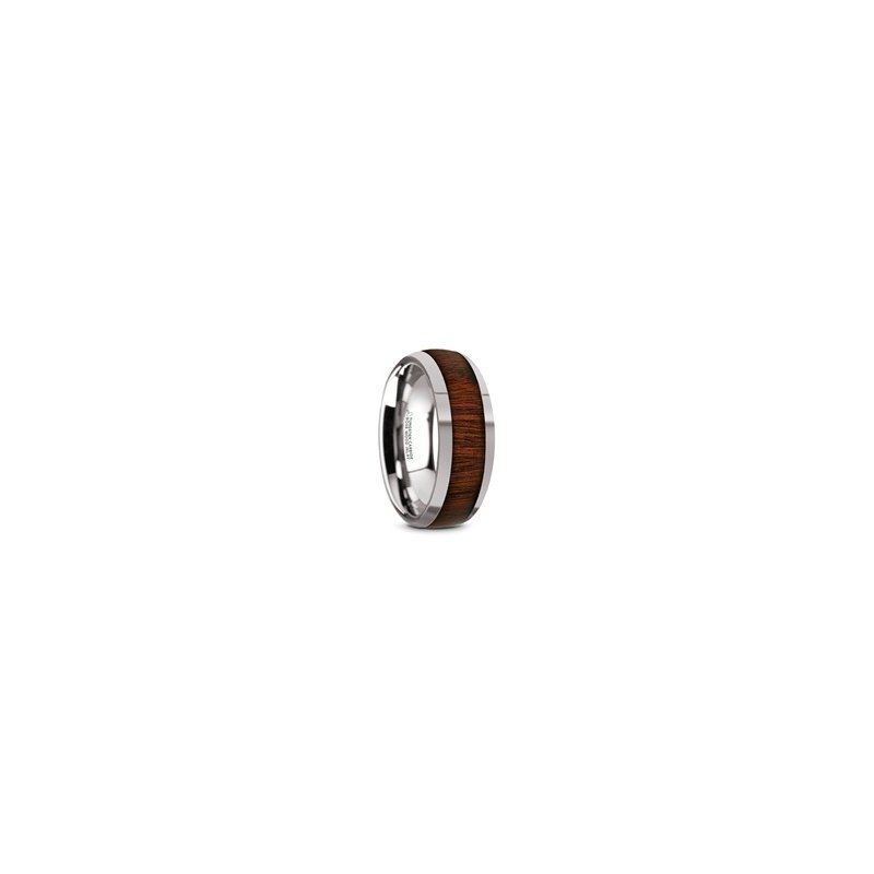 What's On Sale? Titanium Band with Wood Inlay
