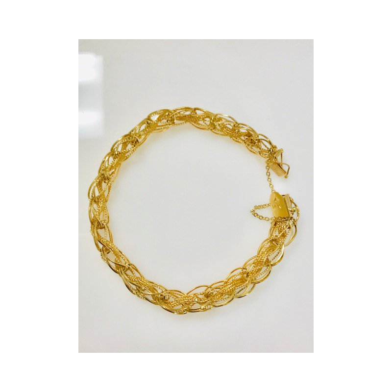 Estate Specials 14KY Charm Bracelet