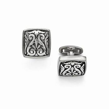Grey Titanium Cufflinks