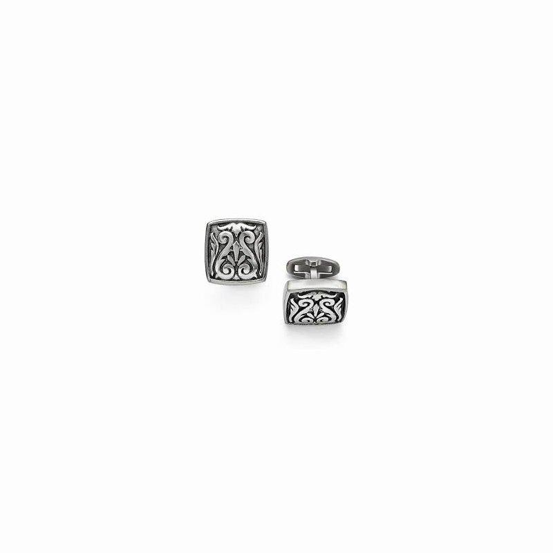 Showcase Collection Grey Titanium Cufflinks