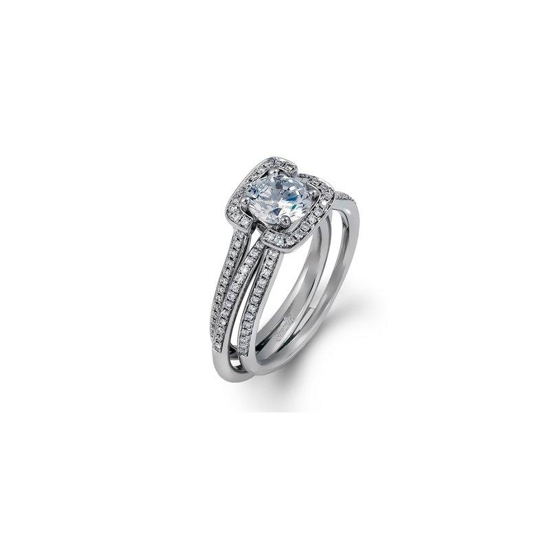Showcase Collection 18KW Semi Set Diamond Ring and Jacket