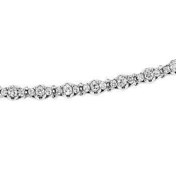 Diamond Tennis Bracelet in 14K White Gold 5 ctw SB948-5ct