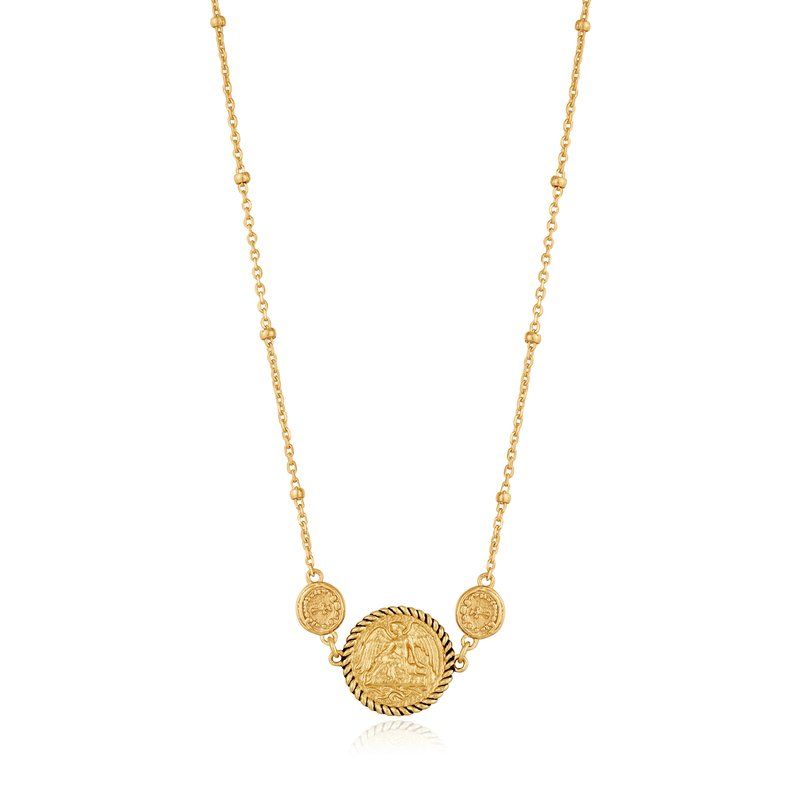 ANIA HAIE Gold Winged Goddess Necklace