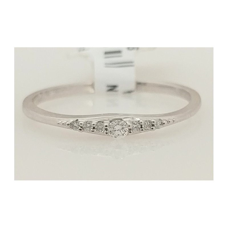 Showcase Collection 10KW Ring with Diamond Accents