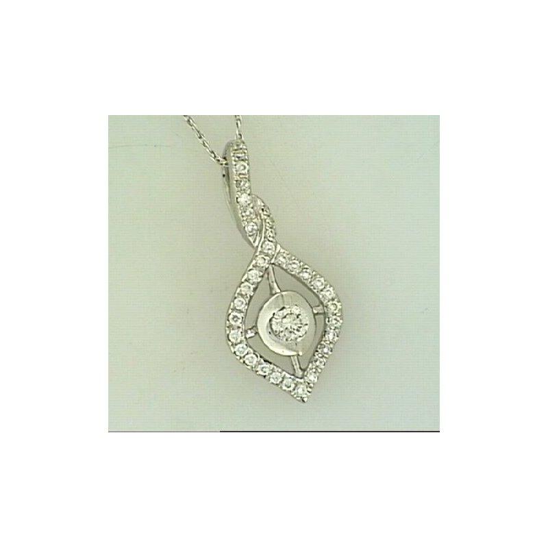 Showcase Collection 14KW Diamond Pendant