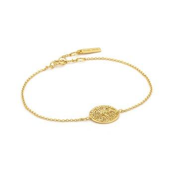 """14k plated Minoan 6.5-7.25"""" Bracelet"""