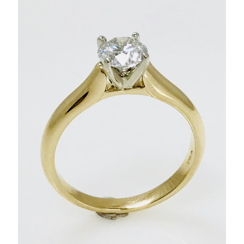 Showcase Collection 14KY Solitaire Ring Mount