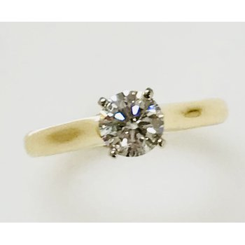 14KY Solitaire Ring Mount