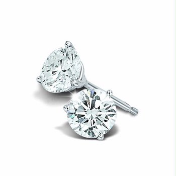 Diamond Stud Earrings 0.10 ctw