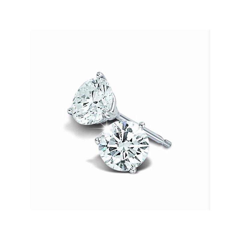 Grandis Signature Diamond Stud Earrings 0.10 ctw