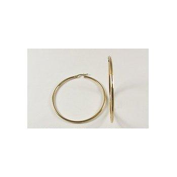 10KY Hoop Earrings