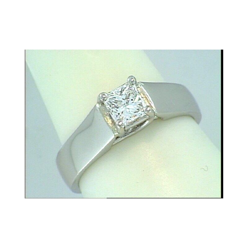 Showcase Collection Platinum Trellis Engagement Ring