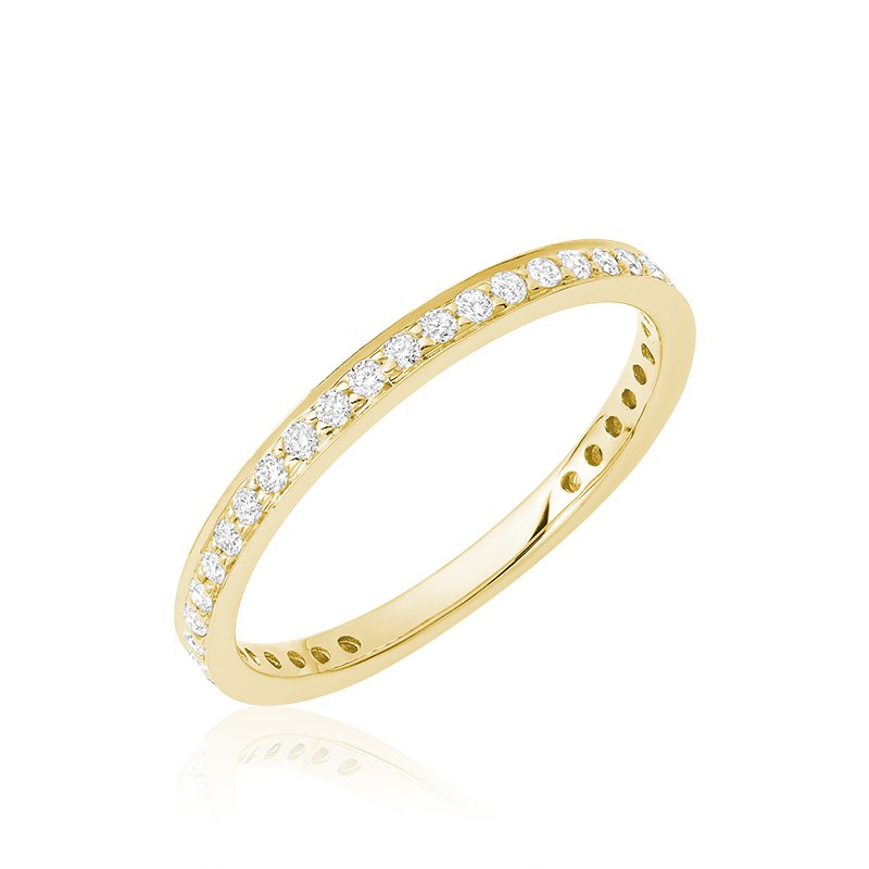 Showcase Collection 14KY Diamond Wedding Band