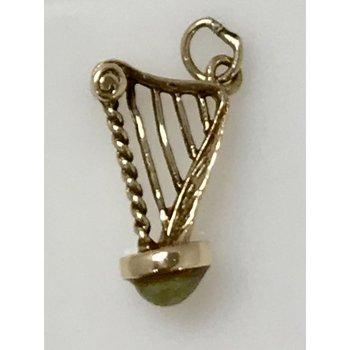 10KY Irish Harp Charm