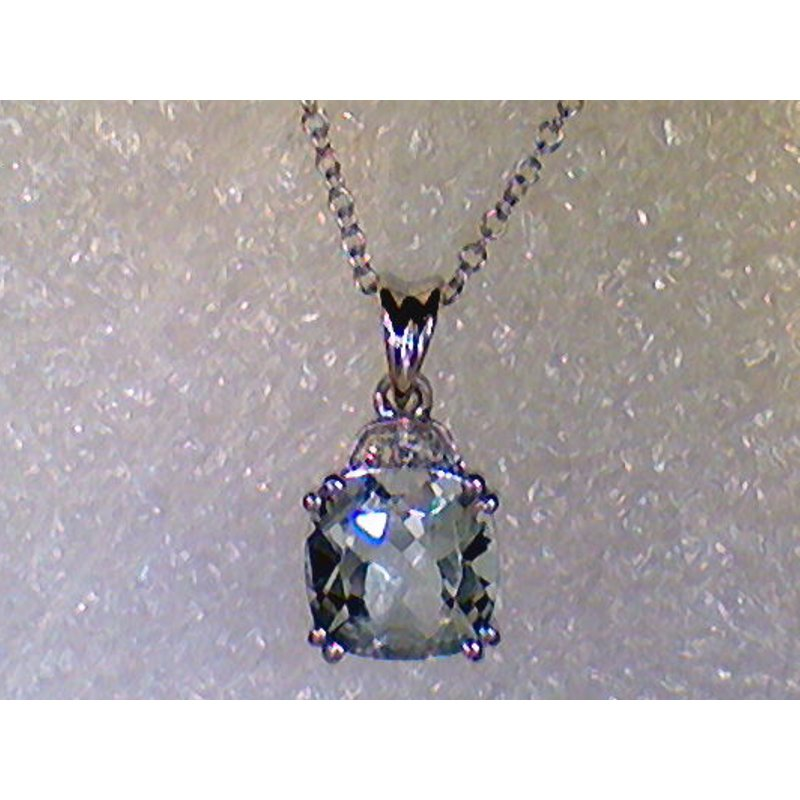 Showcase Collection Aquamarine Pendant