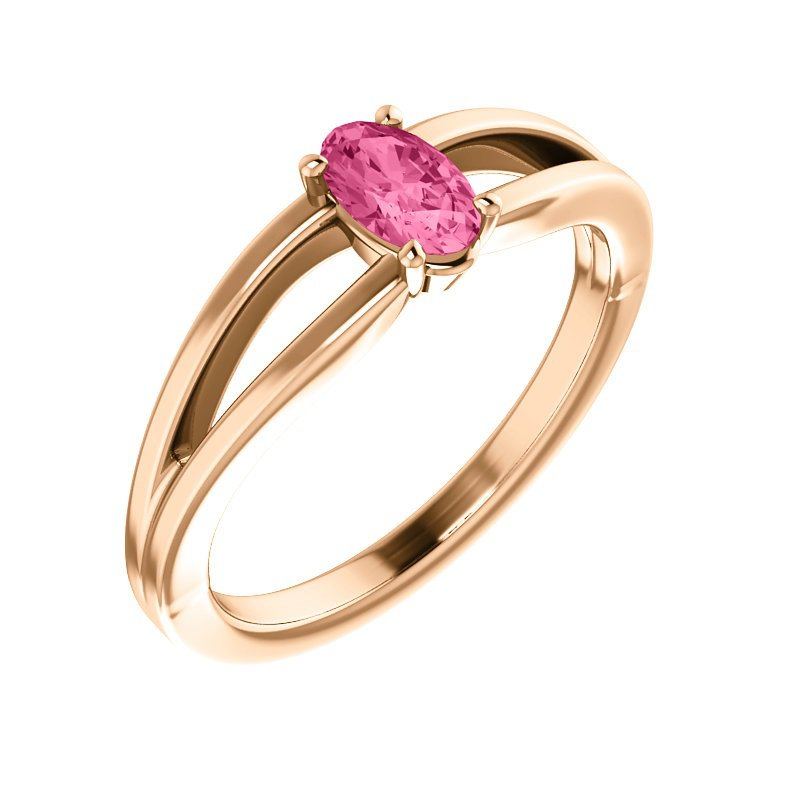 Showcase Collection Pink Tourmaline Ring