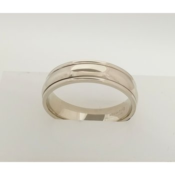 14KW Gents Wedding Band