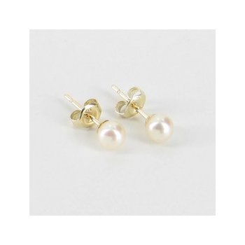 14KY Akoya Pearl Stud Earrings