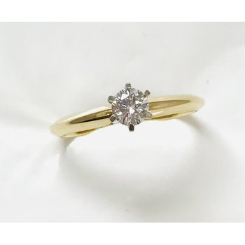 14KY Solitaire Engagement Ring