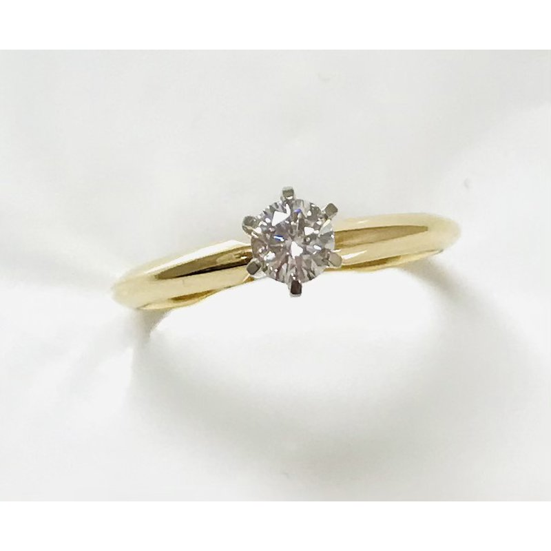 Showcase Collection 14KY Solitaire Engagement Ring