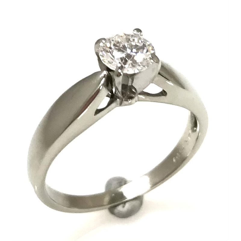 Showcase Collection 14KW Solitaire Engagement Ring