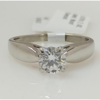 14KW Solitaire Engagement Ring