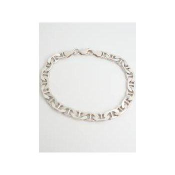 Sterling Silver Marine Link Bracelet