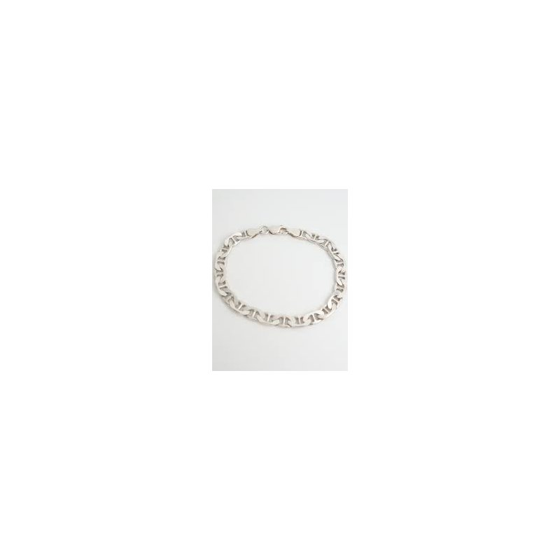Showcase Collection Sterling Silver Marine Link Bracelet