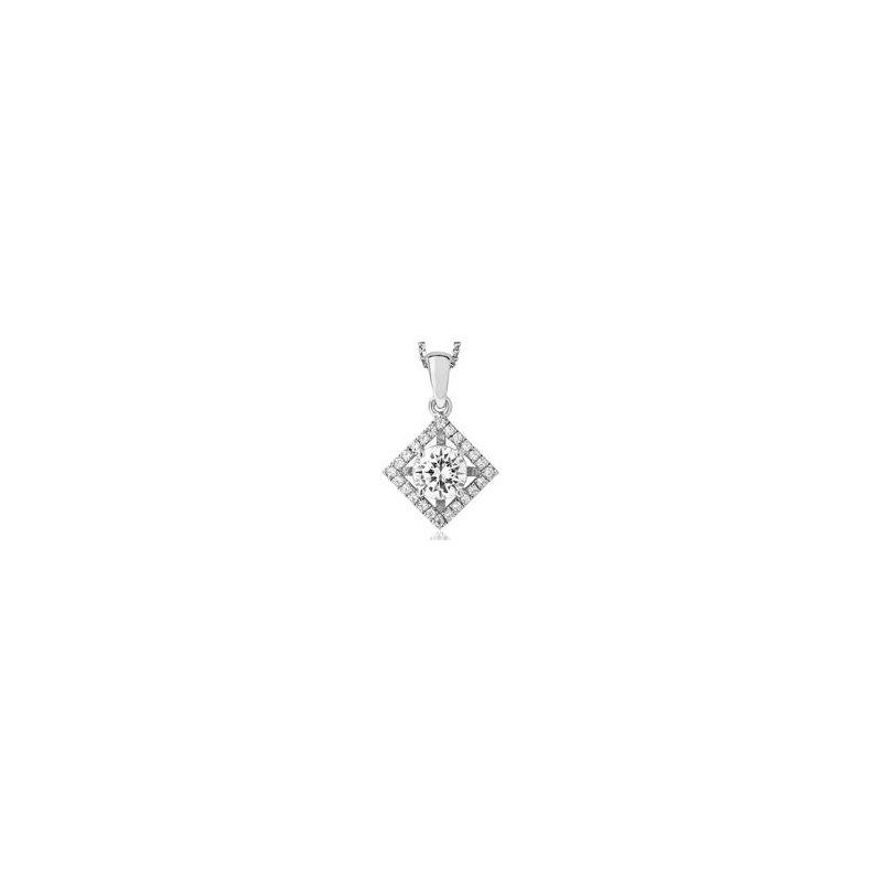 Showcase Collection 18KW Diamond Accented Pendant Mount
