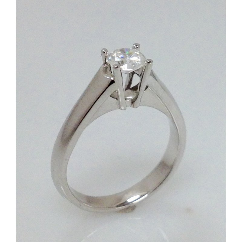 Showcase Collection 14KW Engagement Ring Mount