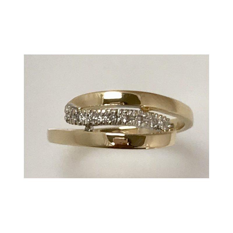 Estate Specials 14ky freeform ring