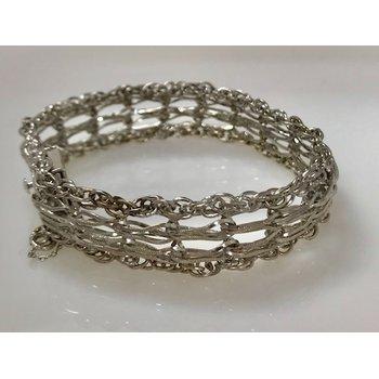Sterling Silver Double Charm Bracelet