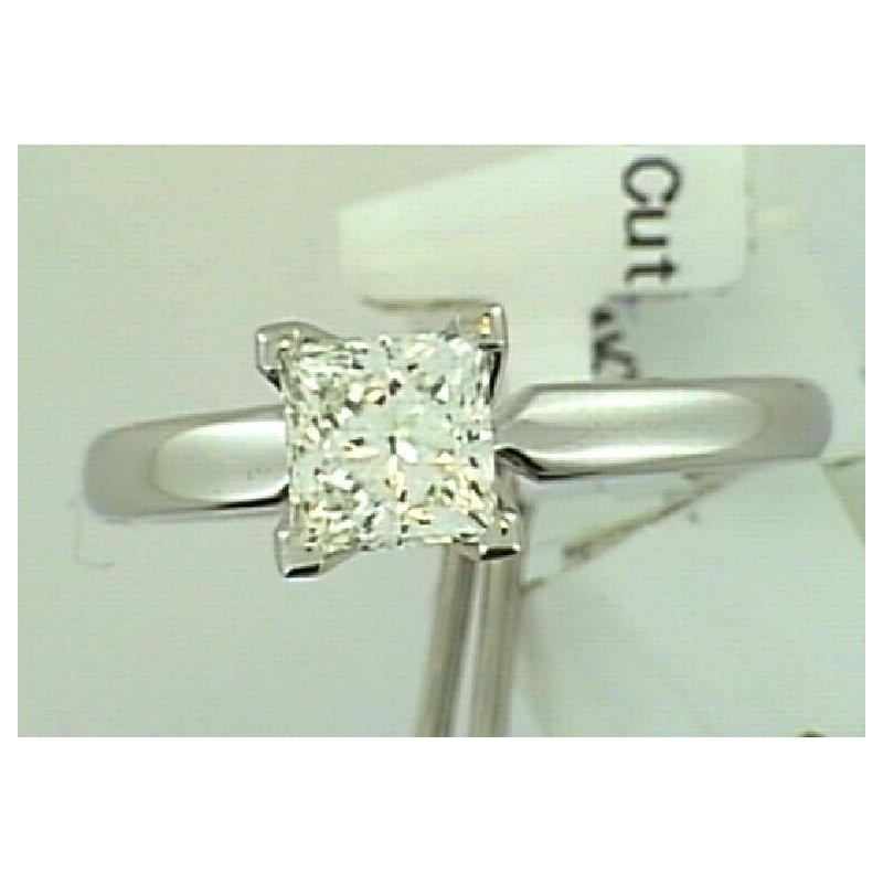 Showcase Collection 14KW Princess Cut Ring Mount