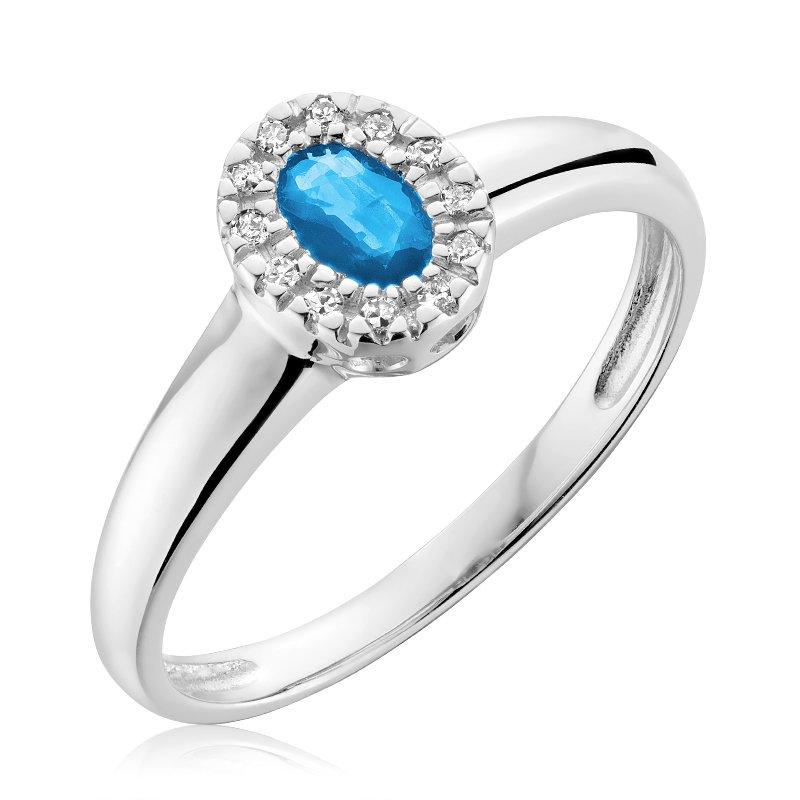 Showcase Collection Oval Aquamarine Ring