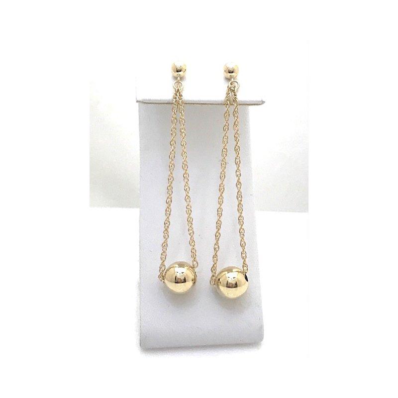 Estate Specials 14KY Dangle Earrings
