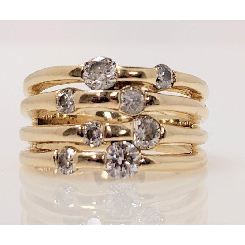 Estate Specials Right Hand Diamond Ring