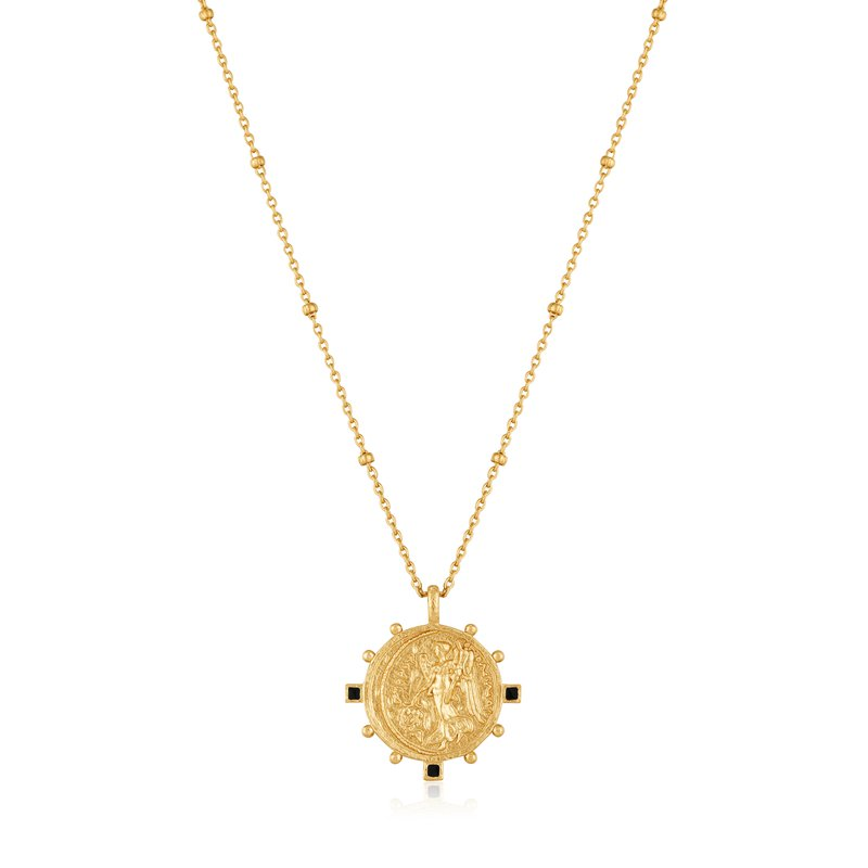 ANIA HAIE Gold Victory Goddess Necklace