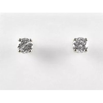 10KW CZ Stud Earrings