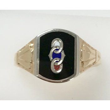 Oddfellows Fraternity Ring