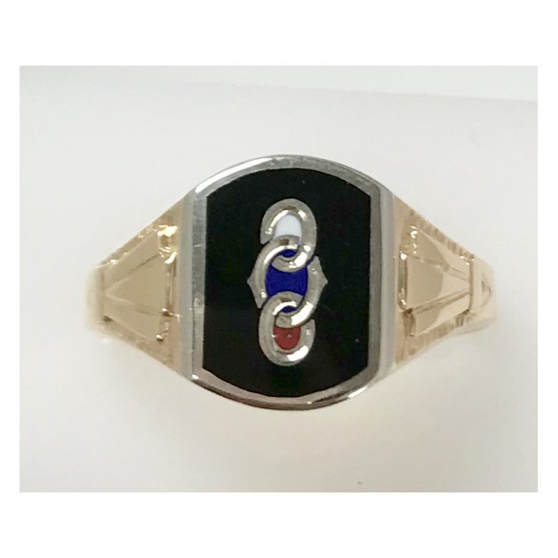Estate Specials Oddfellows Fraternity Ring