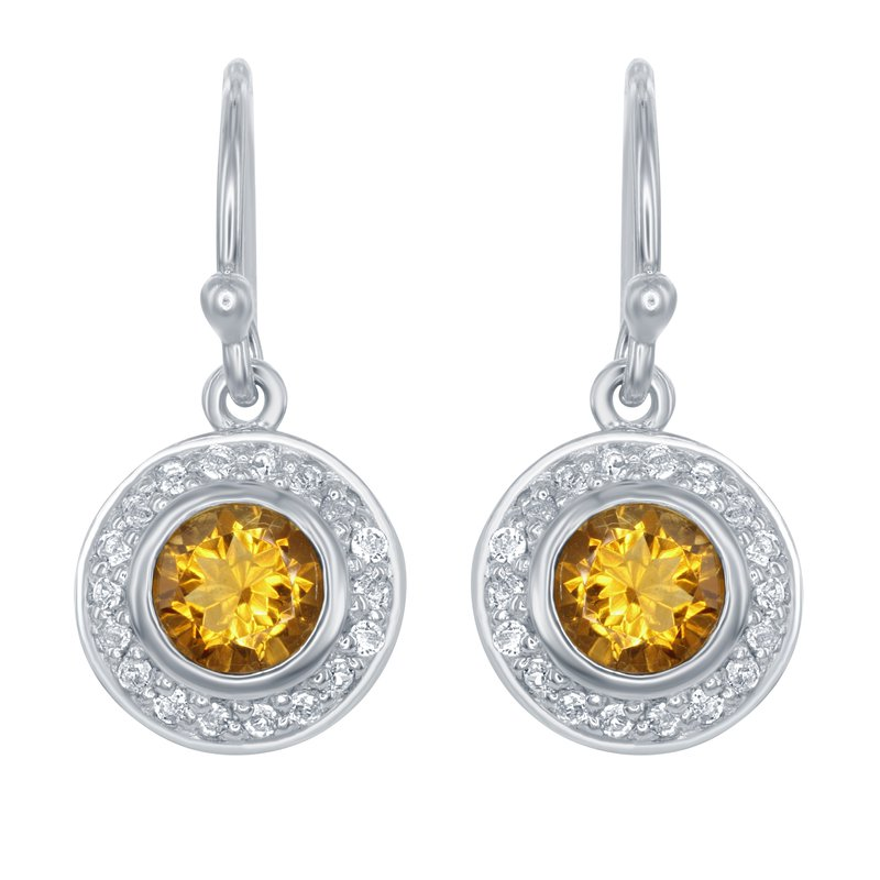 What's On Sale? Sterling Silver Citrine Earrings