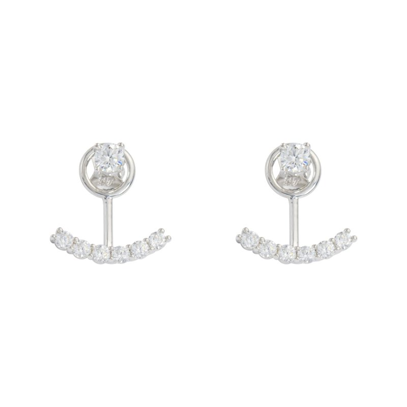 Showcase Collection 10KW CZ Stud with Enhancer