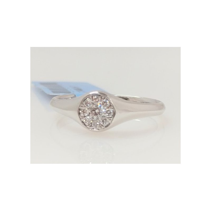 Showcase Collection 14KW Diamond Multi Stone Ring