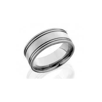 Gent's Tungsten Carbide Ring