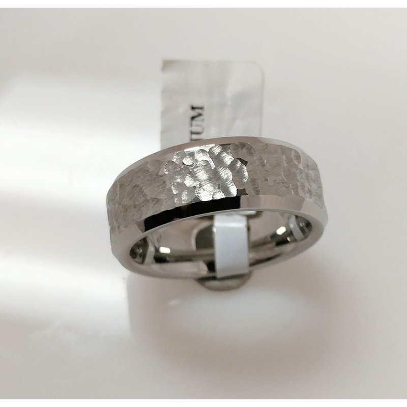 What's On Sale? Vitalium Moon Ring 8mm
