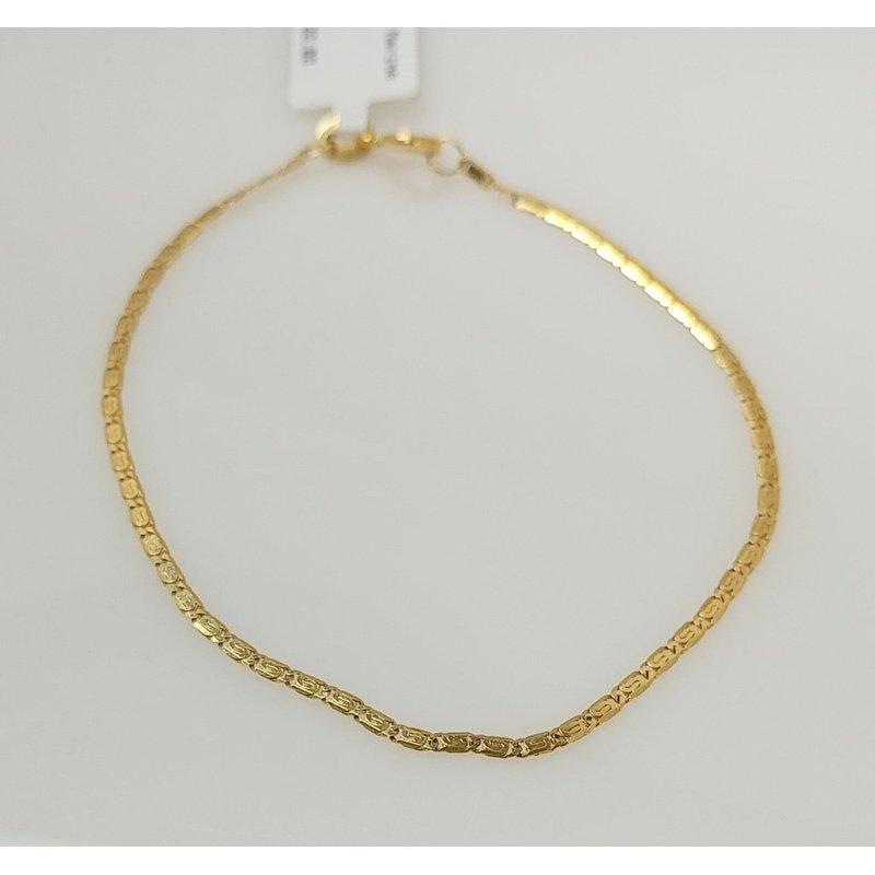 Estate Specials 14KY Marine Link Bracelet