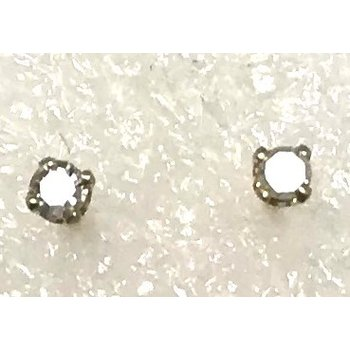 14KY Diamond Stud Earrings