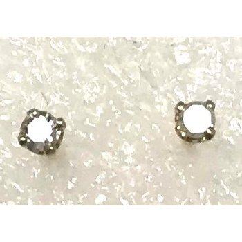 14KY Diamond Stud Earrings