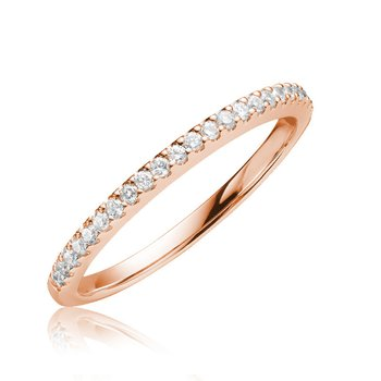 14KR Diamond Wedding Band