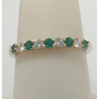 Diamond and Emerald Band